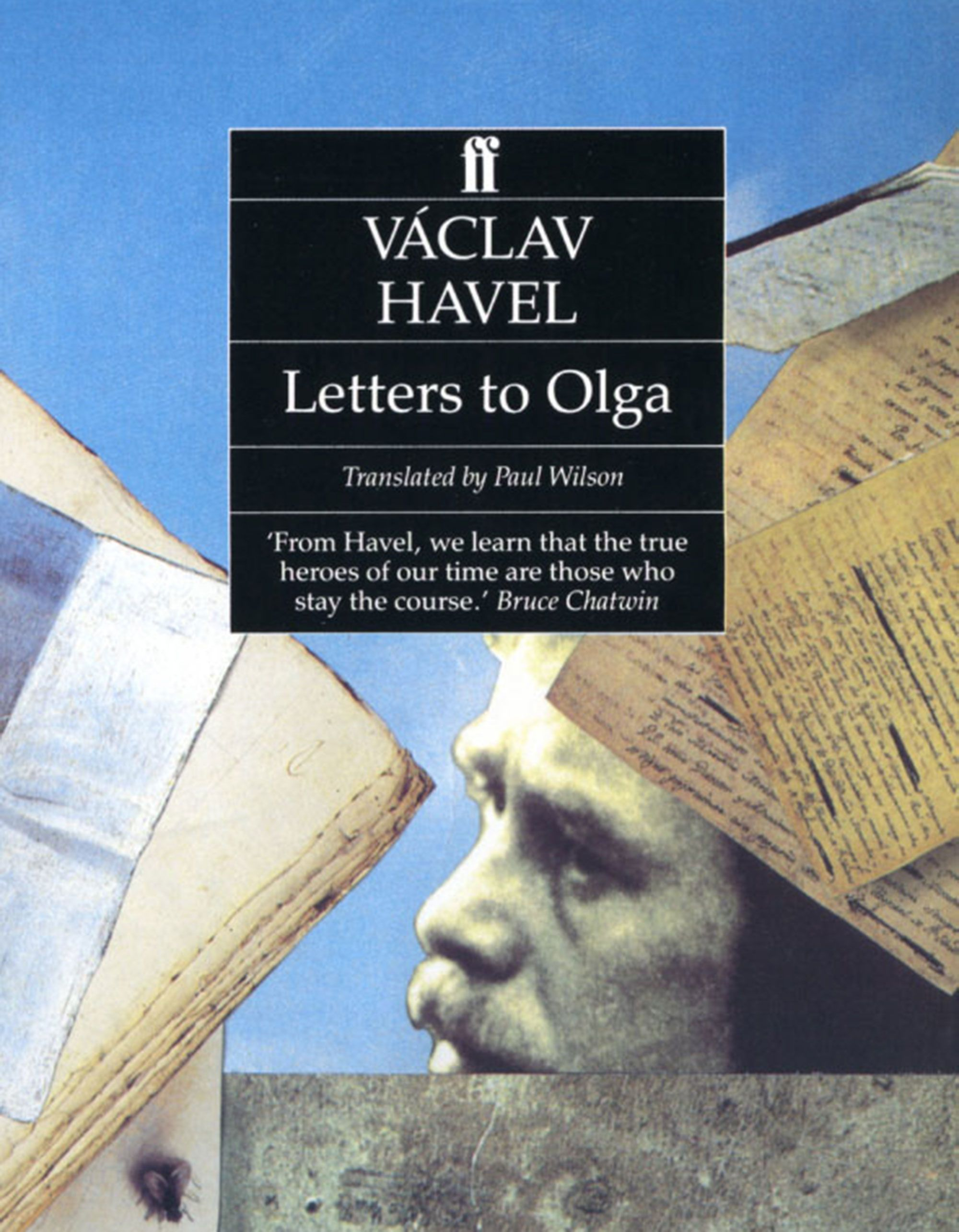 The cover of Vaclav Havel book Letters to Olga