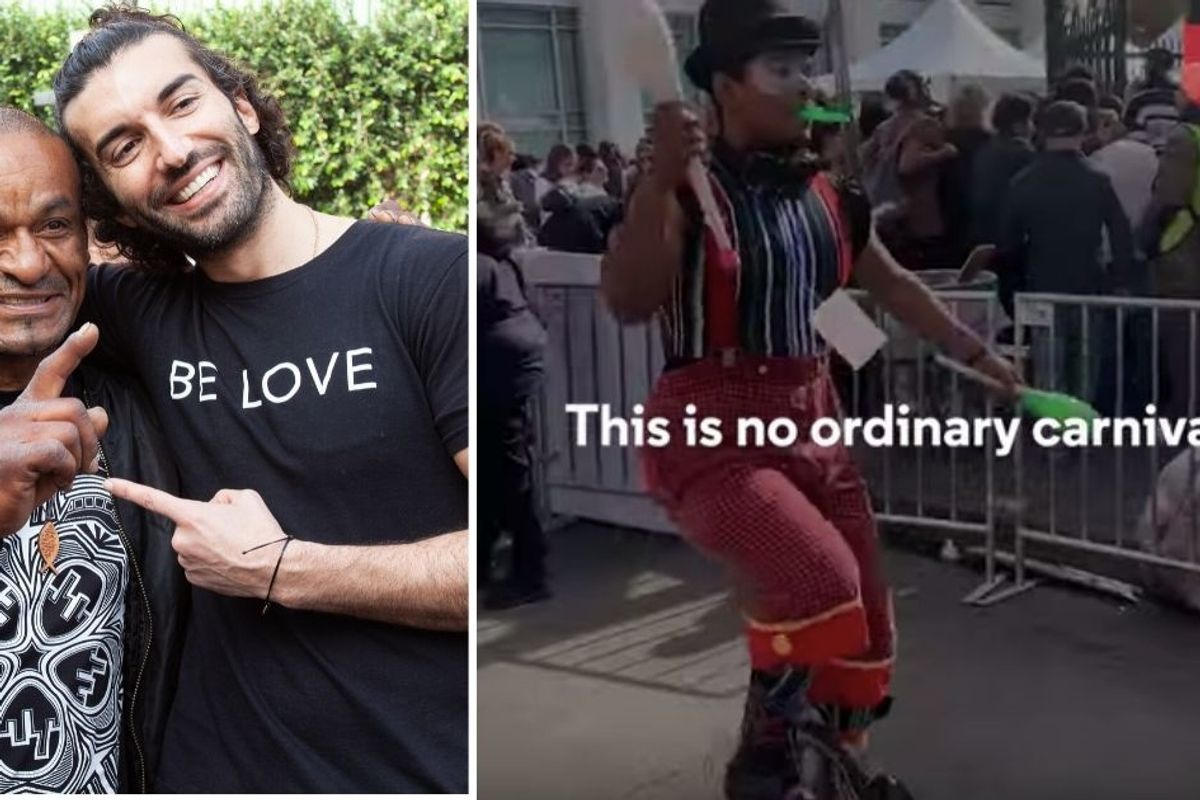 Justin Baldoni's 'Carnival of Love' brings a day of joy and services to 4,000 people experiencing homelessness