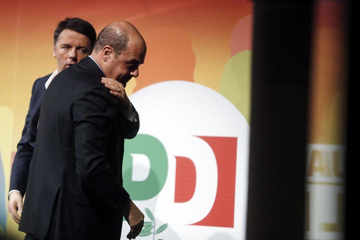 Il Pd si mette a caccia di responsabili per eliminare Renzi appena possibile
