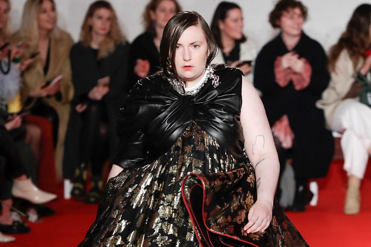 Lena Dunham Is a Model Now