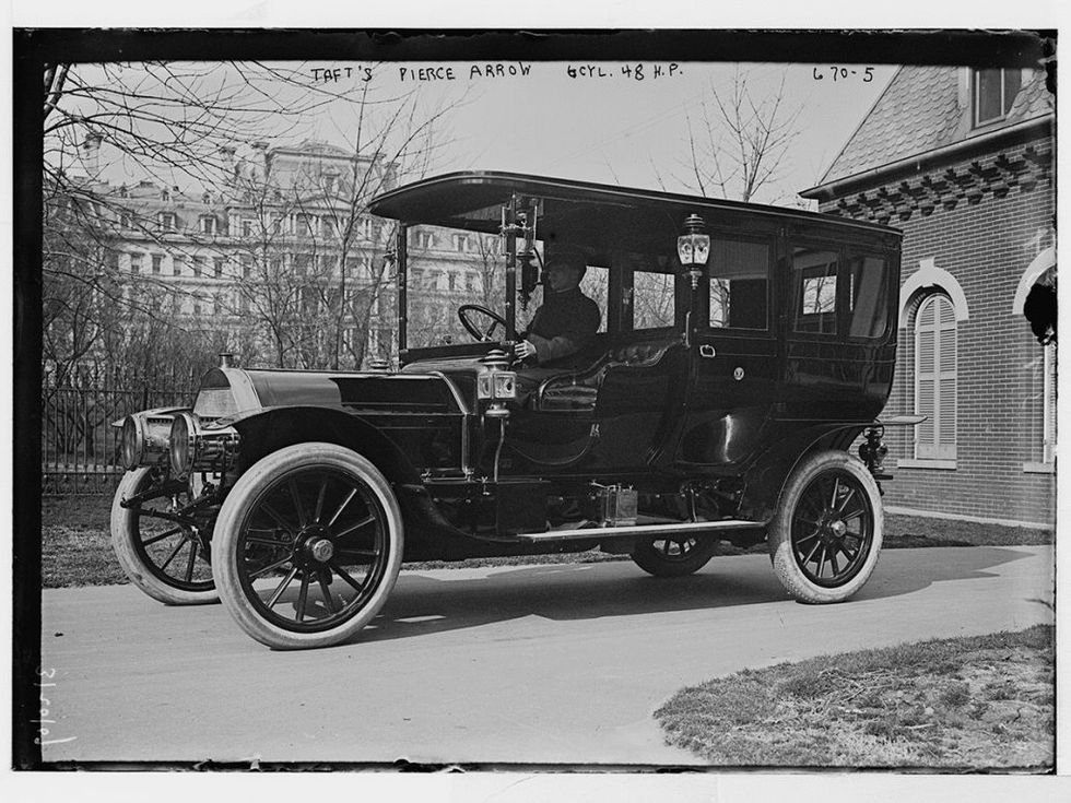 Pierce Arrow White House 1909