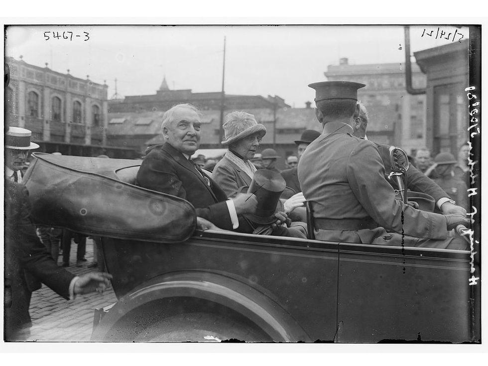 Warren Harding auto 1921
