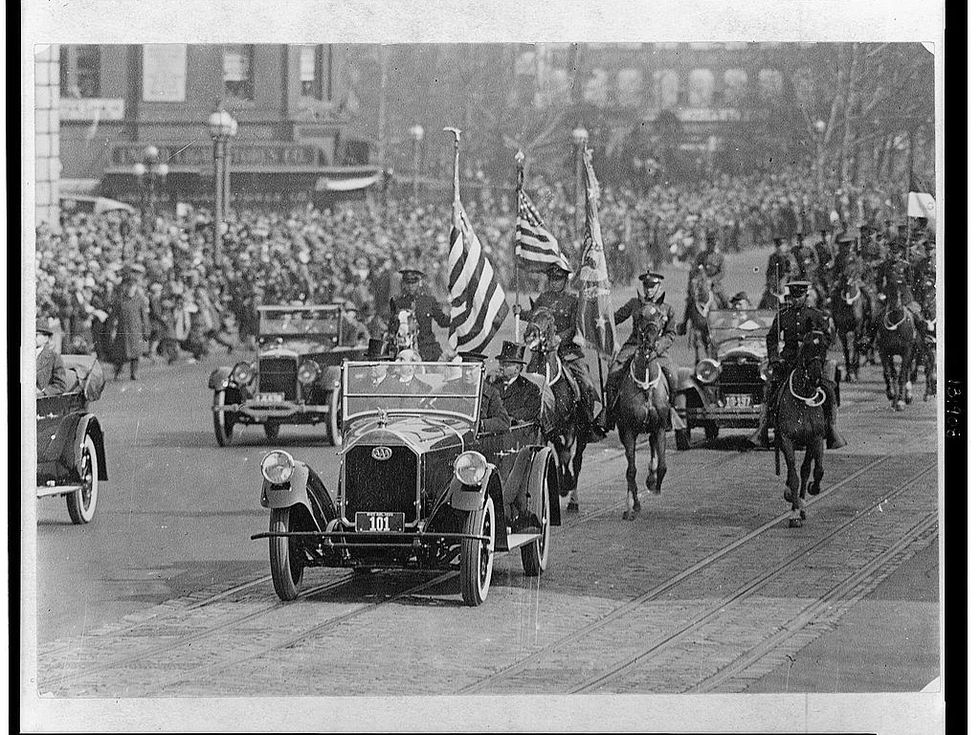 Coolidge inauguration parade 1925