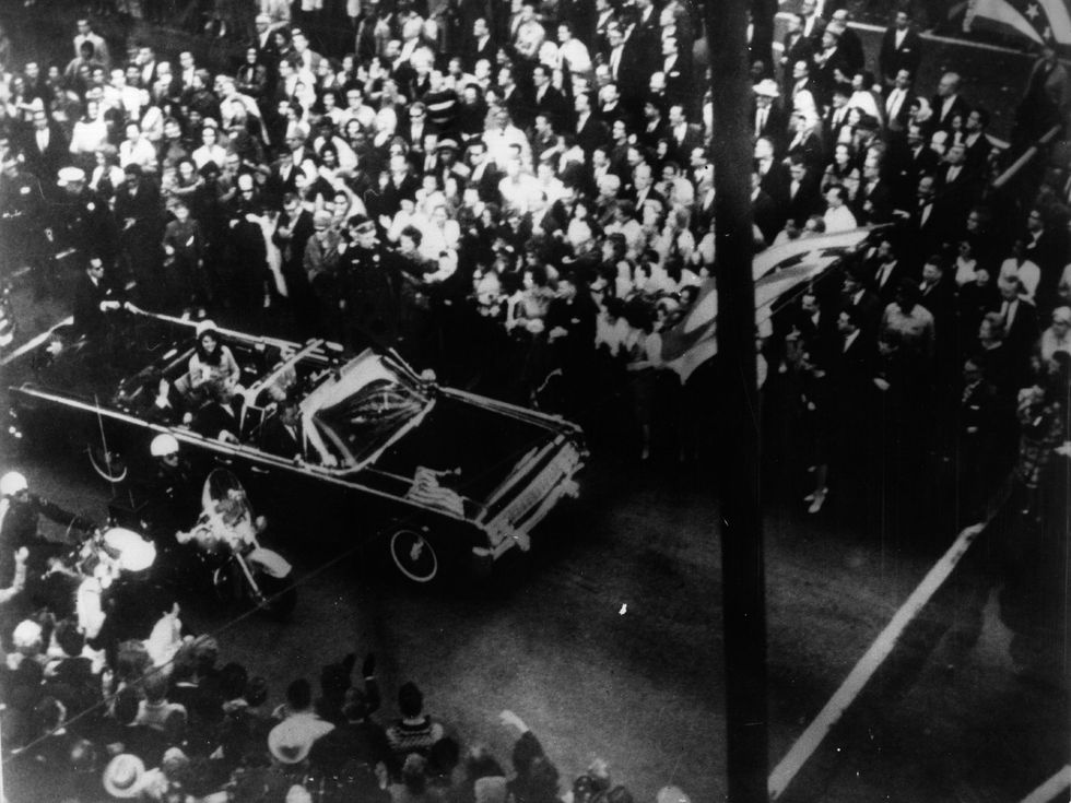 JFK Jackie Kennedy motorcade Dallas assassination