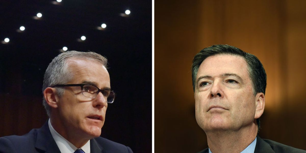 DOJ opens news investigation into James Comey, Andrew McCabe, Peter Strzok, former top DOJ official says