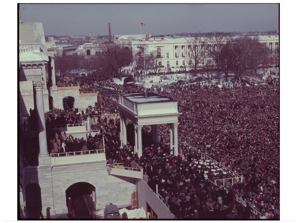 Lyndon Johnson inauguration 1965