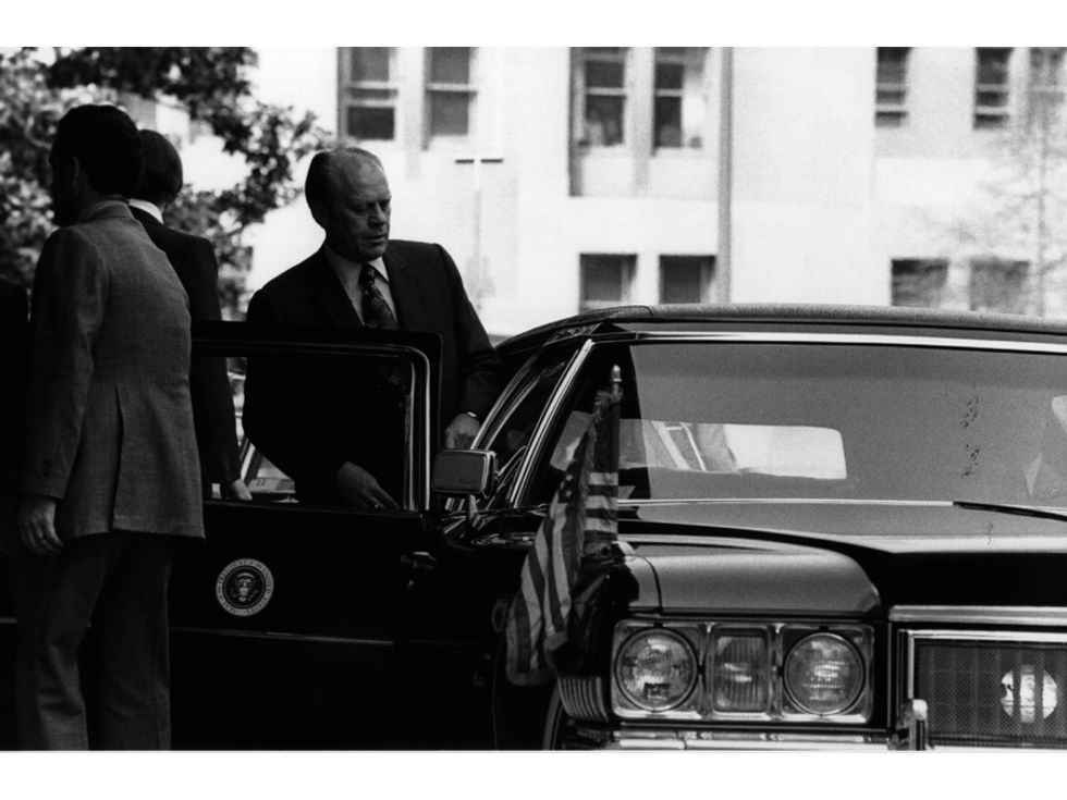 Gerald Ford state car limo 1975