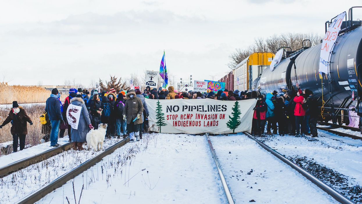 Anti-Pipeline Protests Shut Down Canadian Rail Networks
