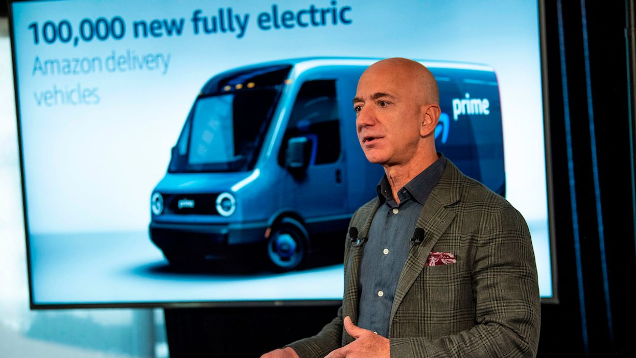 Jeff Bezos Pledges $10 Billion to Fight the Climate Crisis