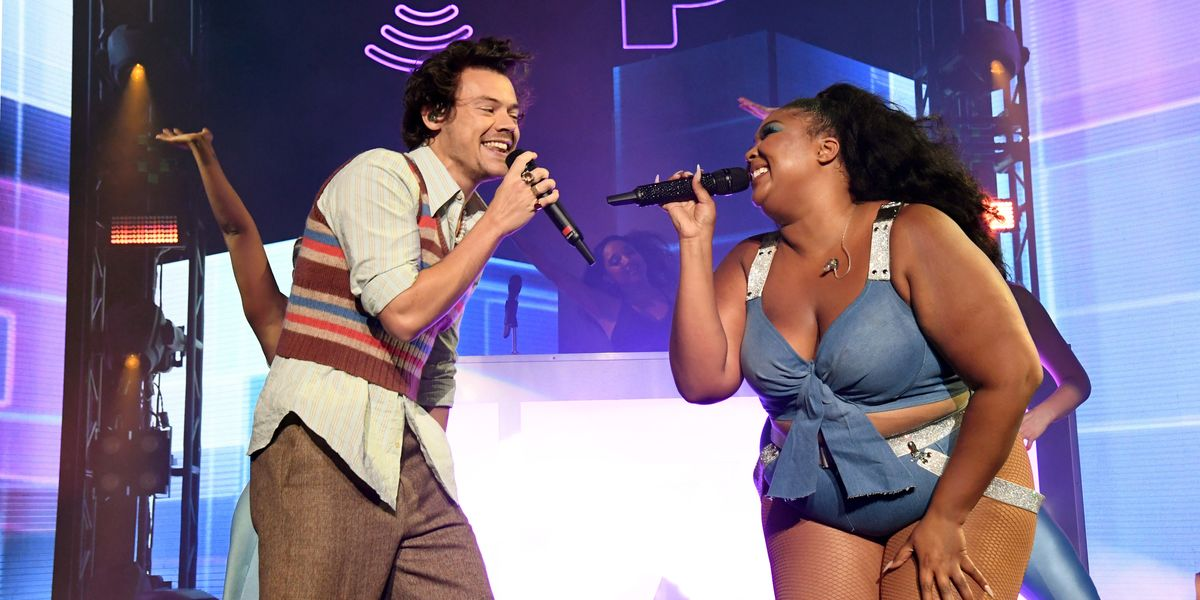 Lizzo and Harry Styles Continue Their Cover Battle