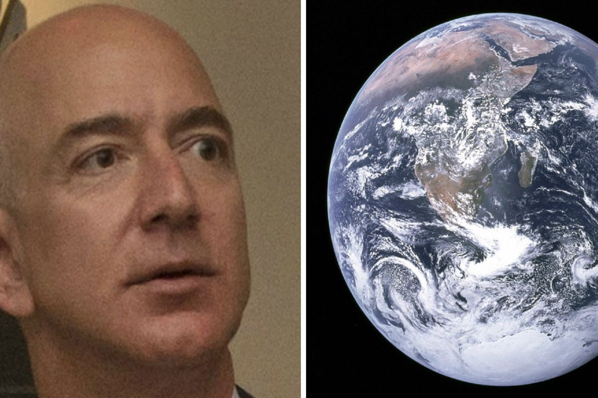 Jeff Bezos's $10 billion climate change donation is a boon for the planet—and for billionaires