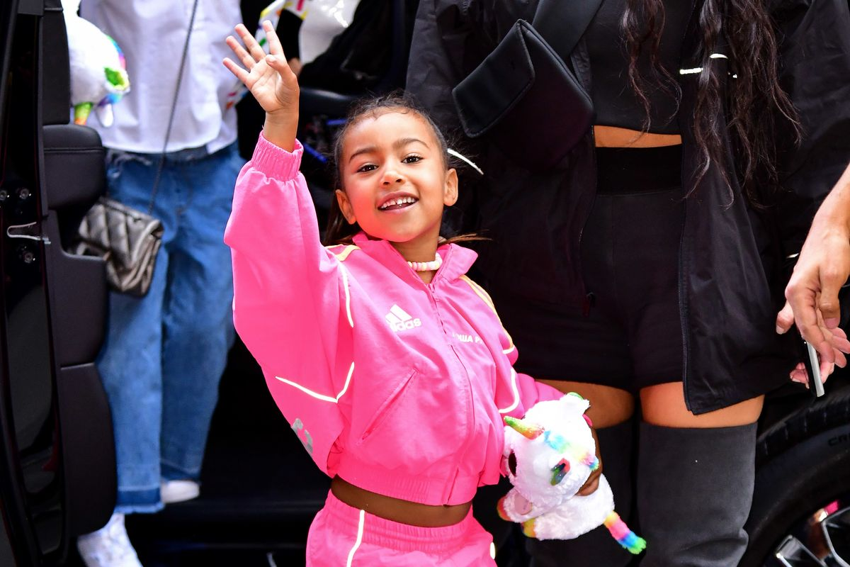 North West Sang a Song about Momo For Her First Grade Class