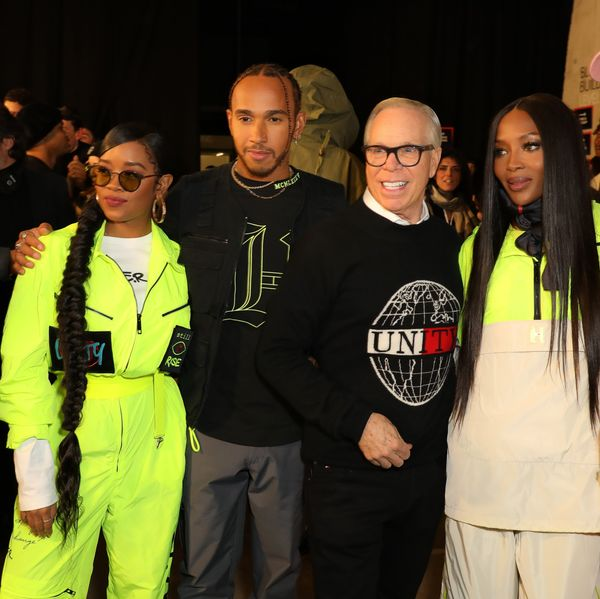 H.E.R. and Lewis Hamilton Made Magic at Tommy Hilfiger