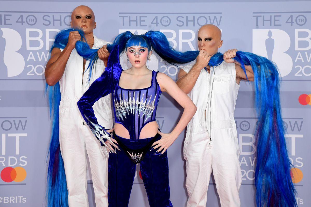 Ashnikko Is a Blue Velvet Vision in Wesley Berryman