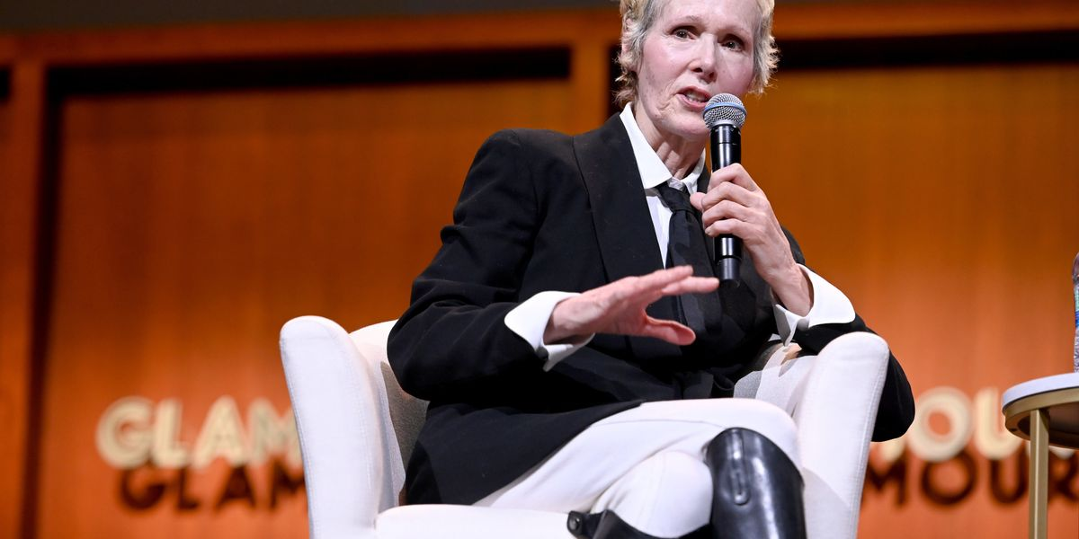 Magazine fires prominent columnist E. Jean Carroll, who accused President Trump of rape. Carroll says firing is Trump's fault.