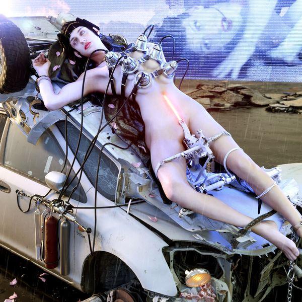 Arca Returns With Hour-Long Single '@@@@@'