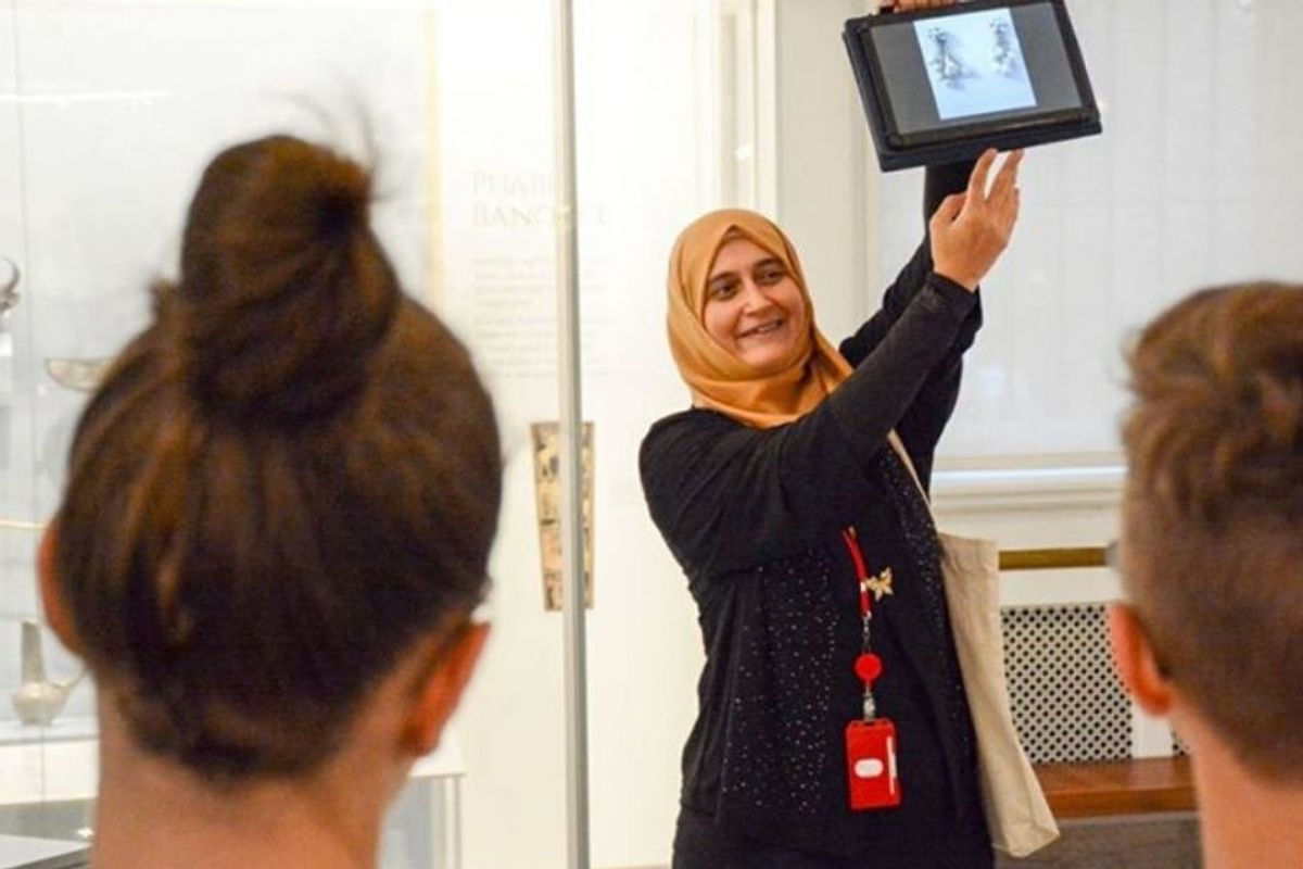 In a brilliant move, Penn Museum hires refugees as guides to exhibits from their homelands