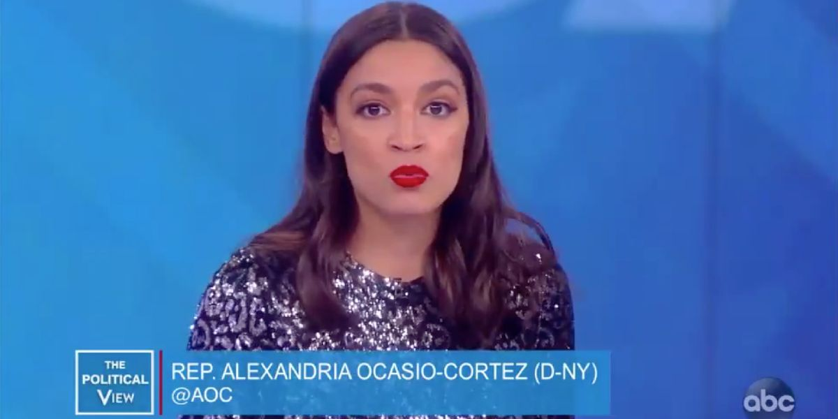 AOC appears on 'The View' where not even Whoopi Goldberg likes her message about older Democrats — and makes her feelings clear