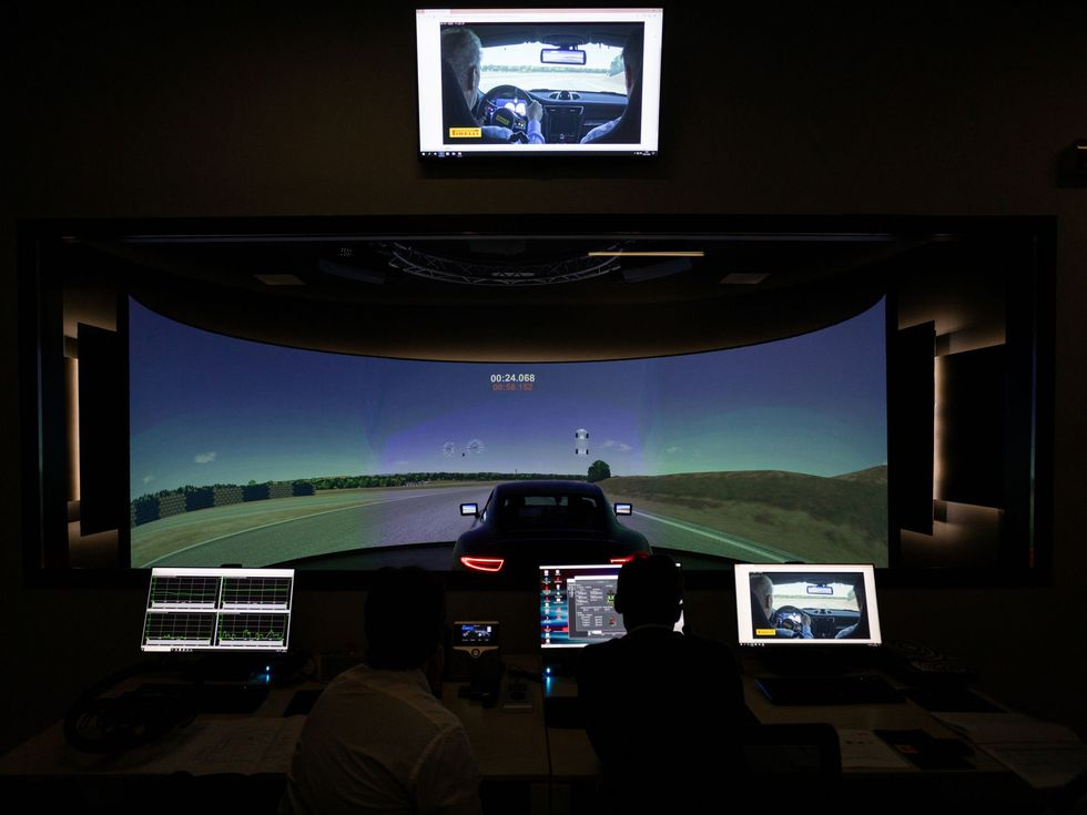 Pirelli simulator
