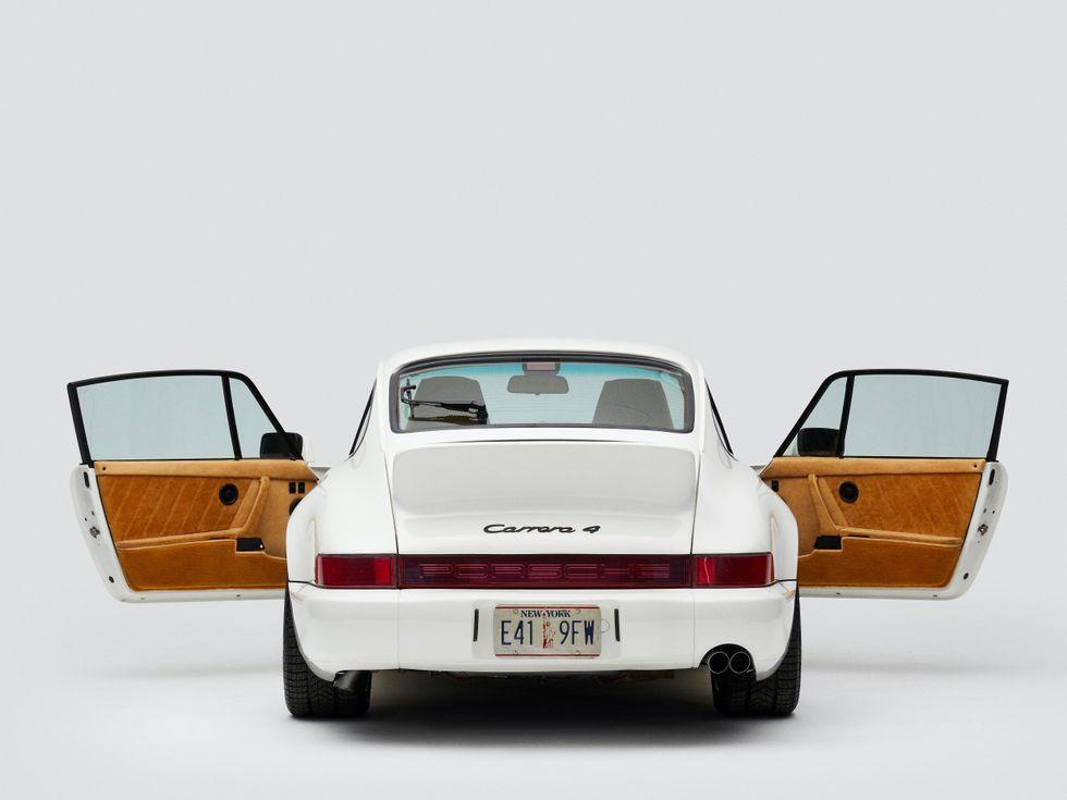 Porsche 911 Carrera 4 x Aim\u00e9 Leon Dore
