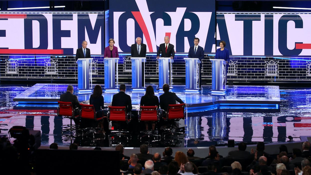 Climate Crisis Gets 16 Minutes at Ninth Democratic Primary Debate in Las Vegas