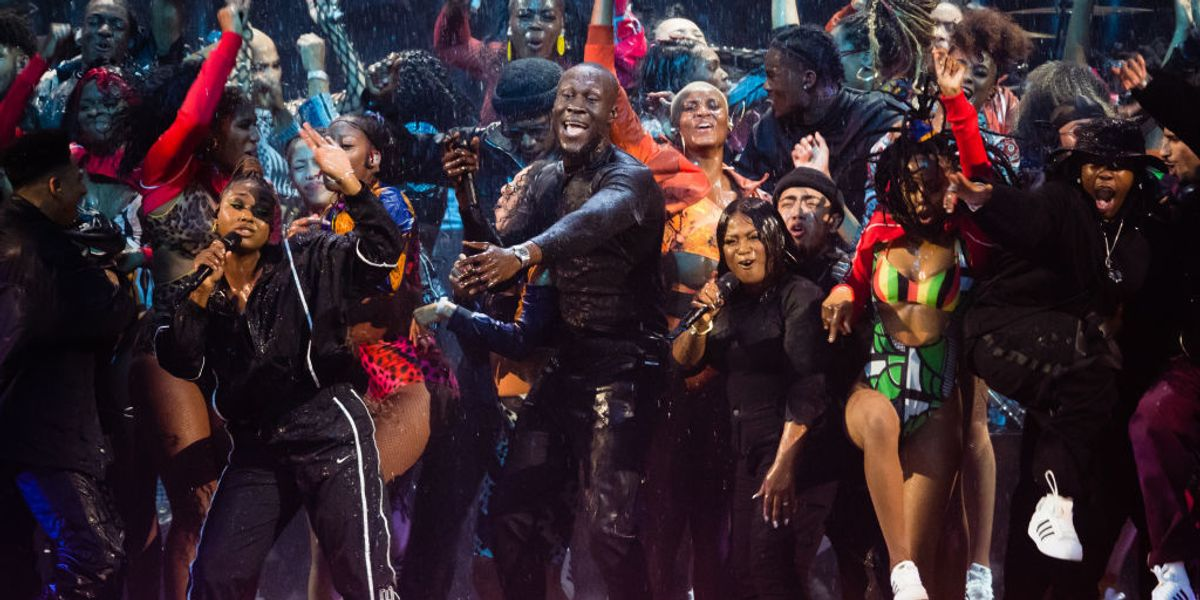 Watch Stormzy's Powerful BRIT Awards Performance Featuring Burna Boy