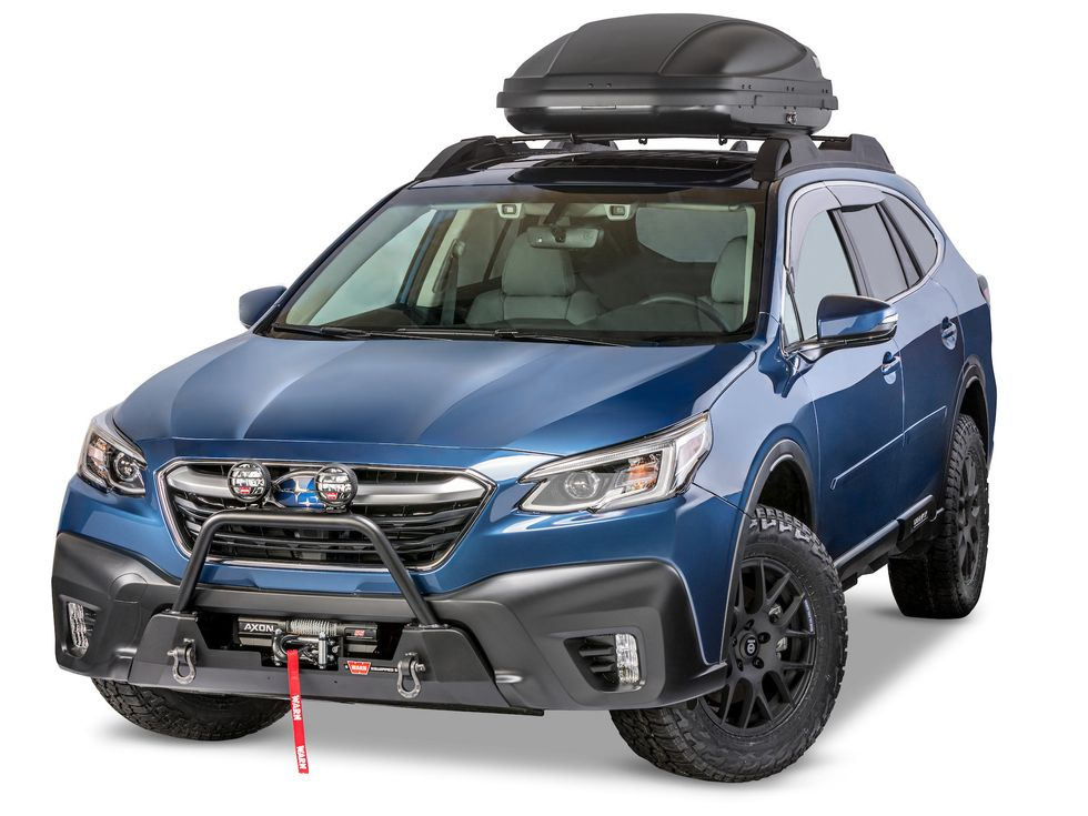 Warn Industries mounting kit Forester Outback 2020 2019