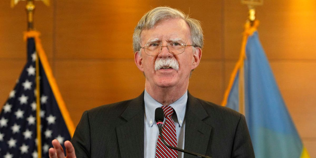 John Bolton breaks his silence: Democrats' impeachment of President Trump was 'grossly partisan'