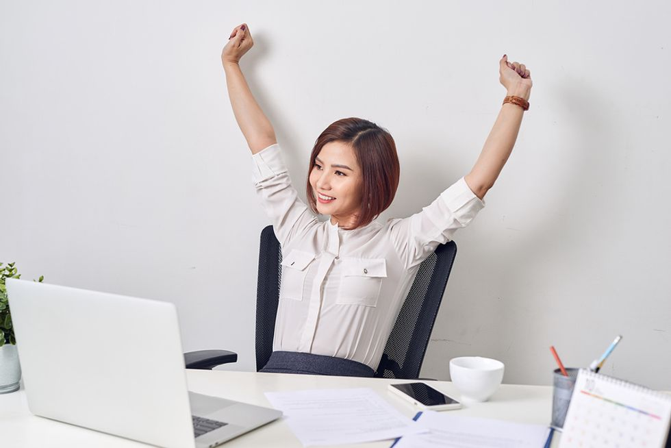 Woman finds career success after achieving her goals