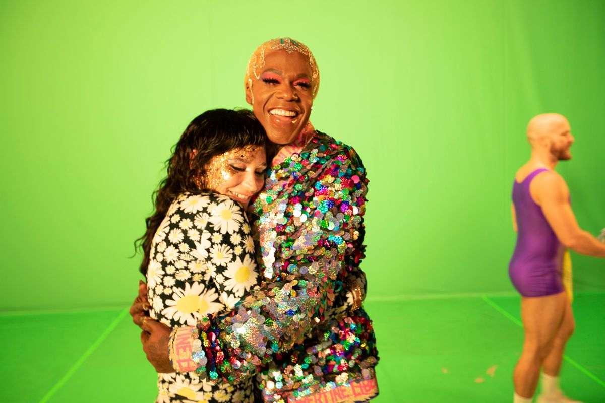 Behind the Scenes of Big Freedia and Kesha's 'Chasing Rainbows'