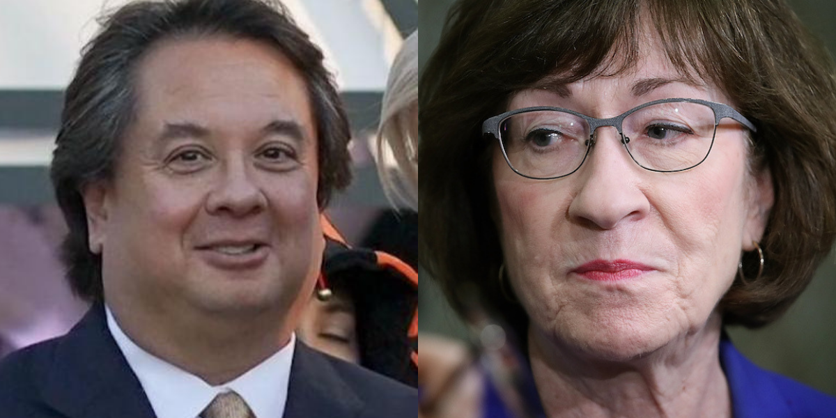 George Conway Had the Perfect Response After New Poll Shows Susan Collins Losing to Her Democratic Rival Among Key Constituencies