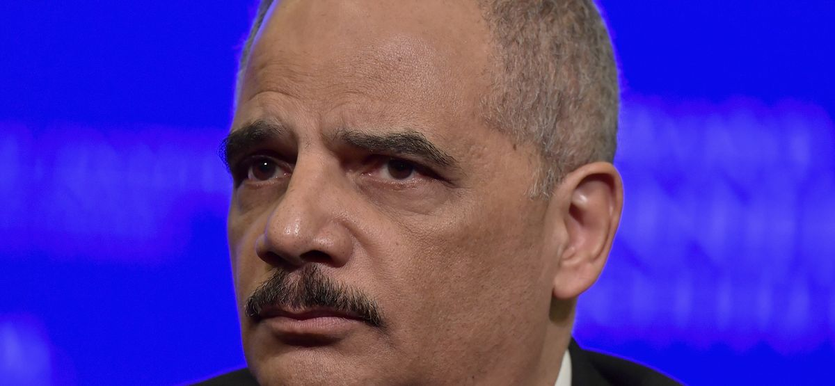 Eric Holder triggered by reporter exposing Andrew...