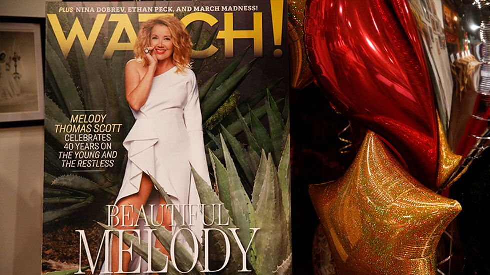 Melody Thomas Scott on the cover of Watch