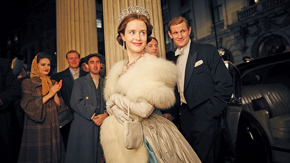 An image from the Netflix show The Crown.
