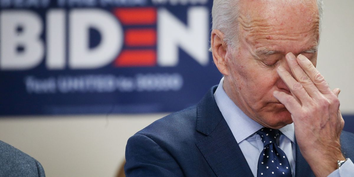 Support for Joe Biden implodes in new poll from key primary state of South Carolina