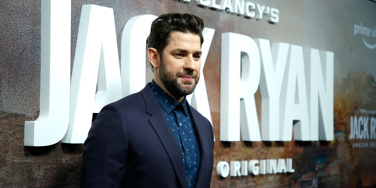 John Krasinski shuts down critics who complain his roles celebrate military: 'I'll always respect people who put their lives on the line'
