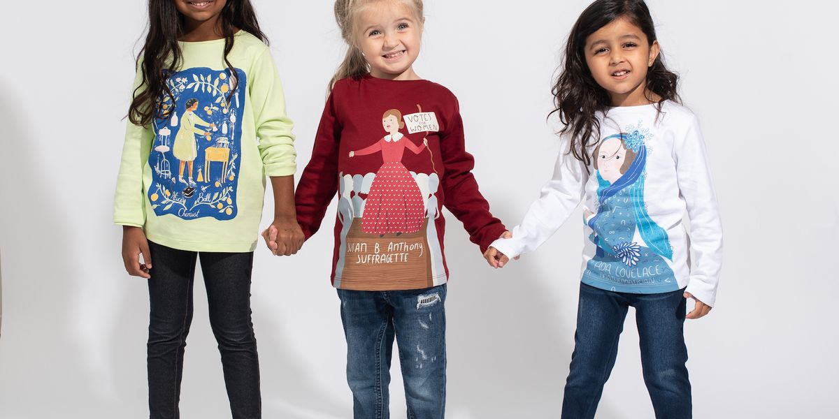 This Black History Month tee collection will inspire confidence in your kid