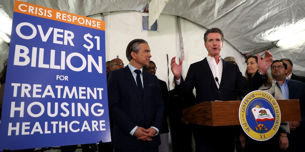 California Democratic Gov. Gavin Newsom: 'Doctors should be able to write prescriptions for housing'