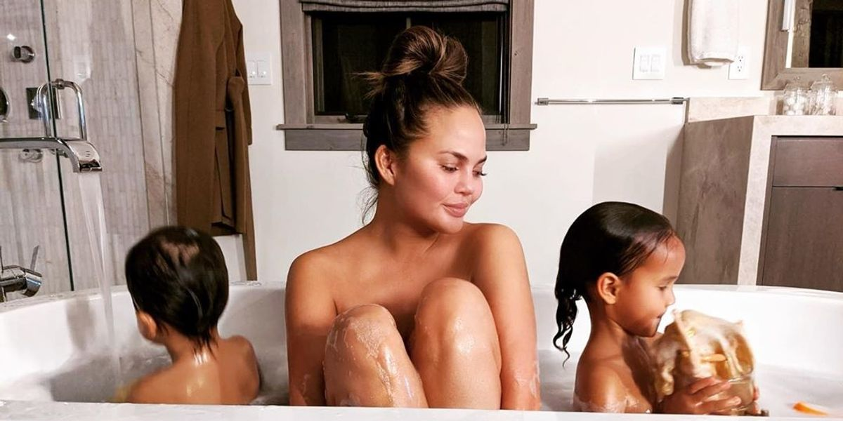 Chrissy Teigen just listed all the things she gets mom-shamed for online