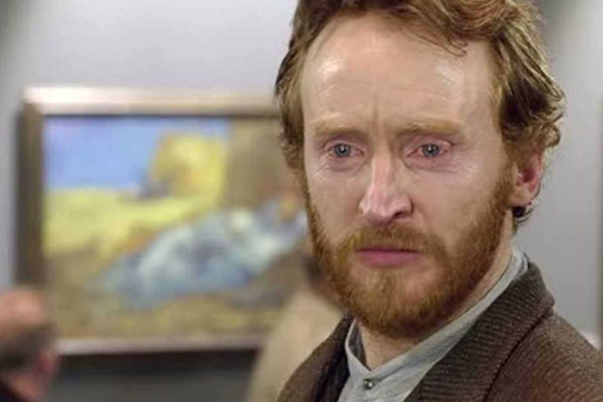 Van Gogh only sold one painting in his lifetime. This moving clip shows what his reaction to his popularity would look like today.