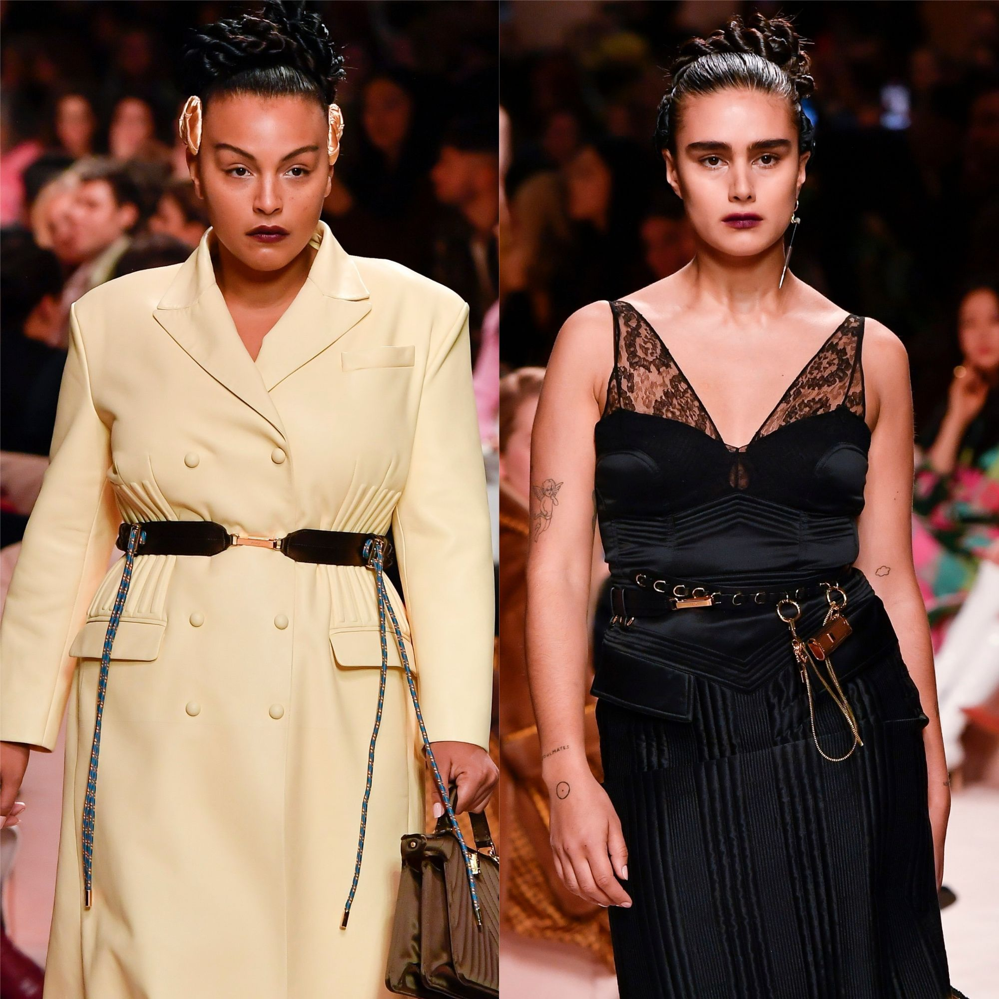 Fendi Makes History With Its First Plus Size Runway Models Paper