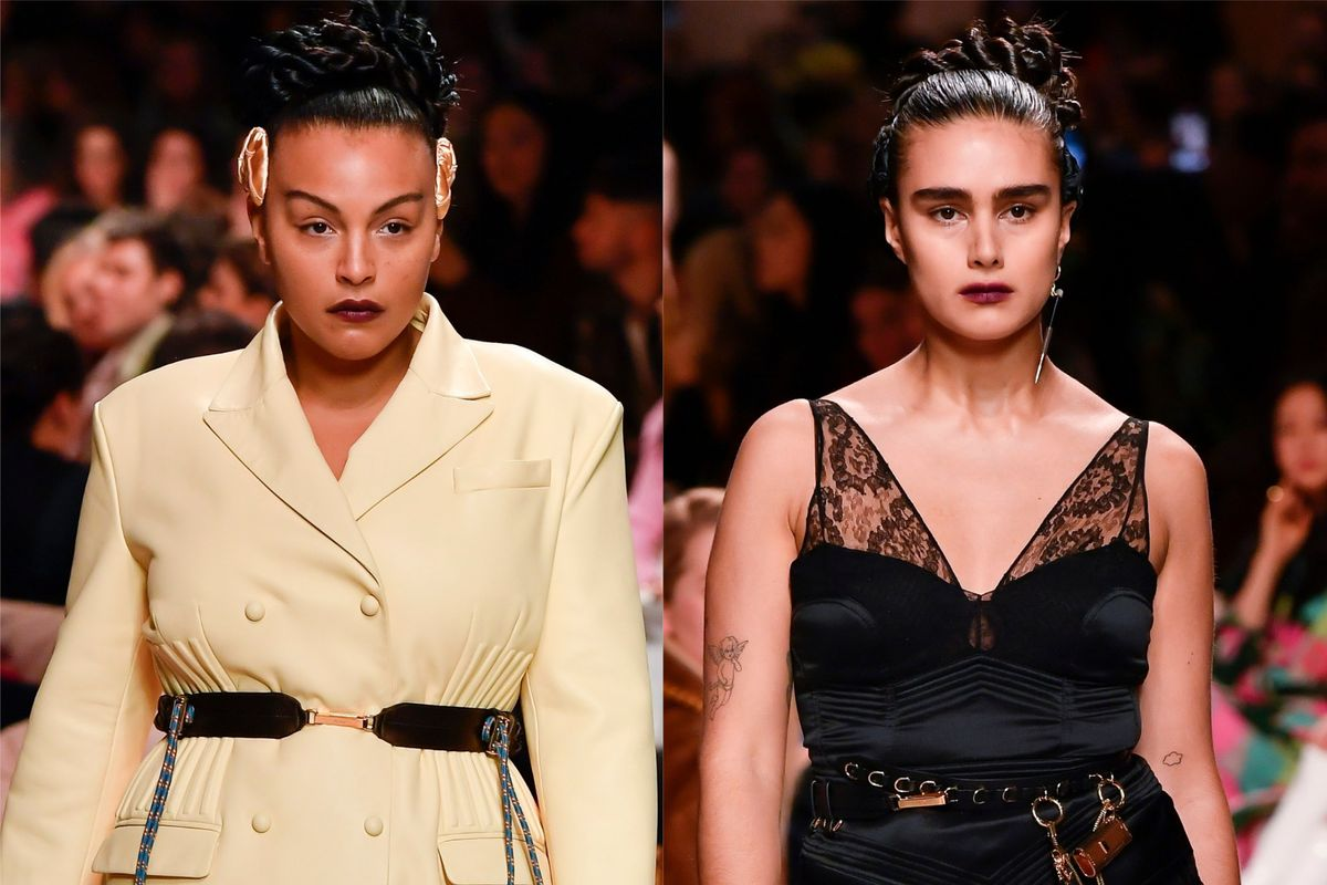Fendi Makes History With Its First Plus-Size Runway Models