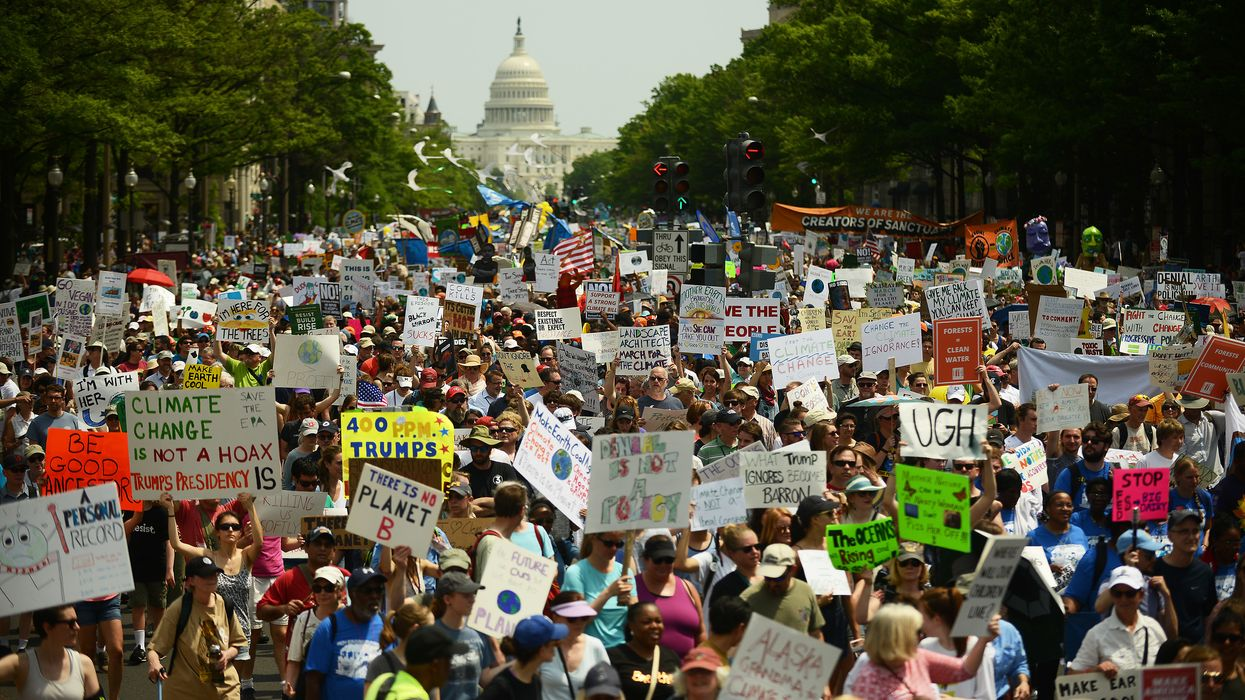 People's Climate Movement march