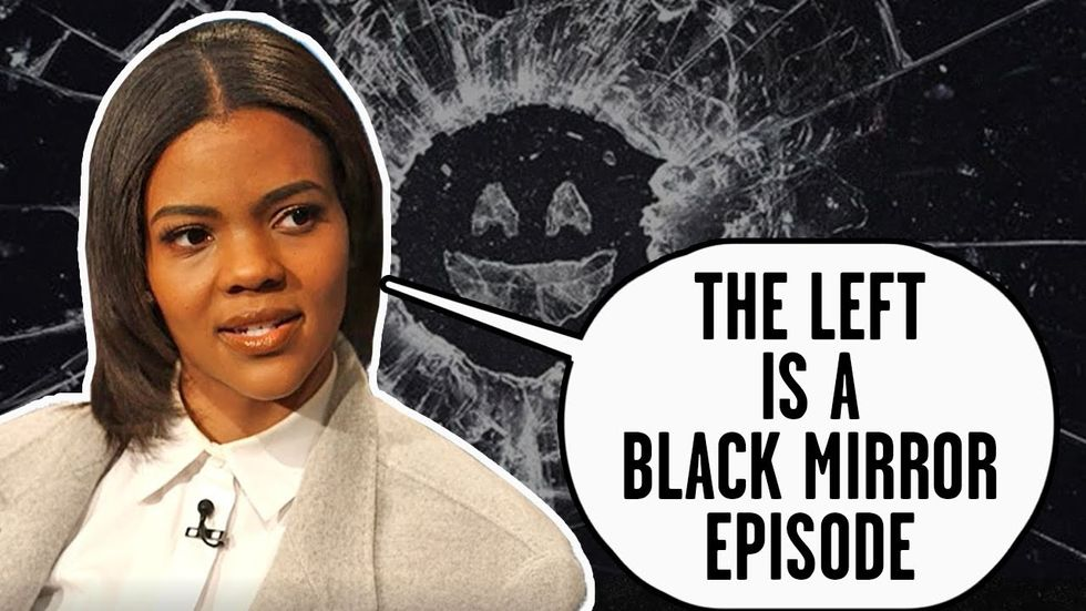 image for CANDACE OWENS EXCLUSIVE INTERVIEW: Voters are RUNNING from the left and ...