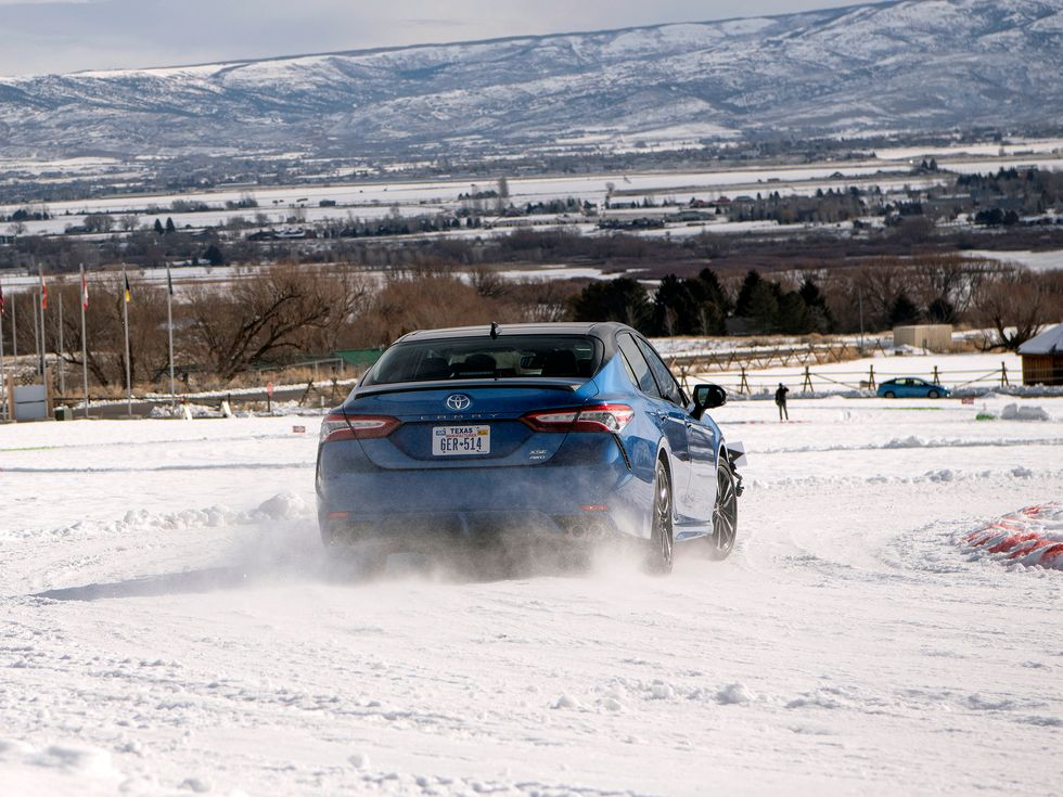 2020 Toyota Camry Park City Utah course