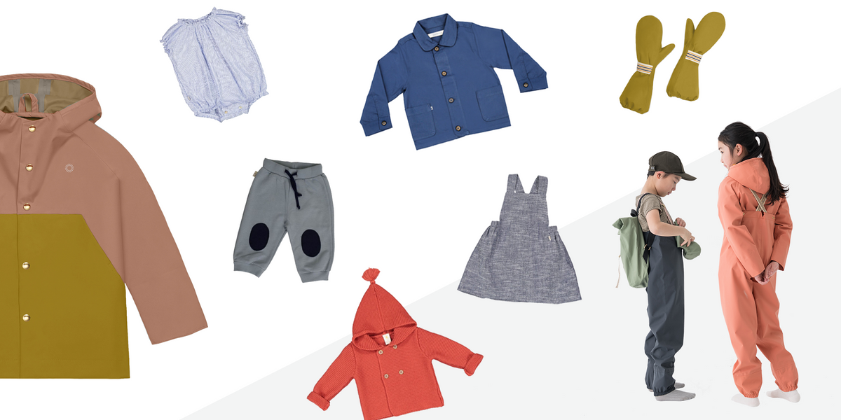 Adorable + eco-friendly kids clothing brands you and your child will love