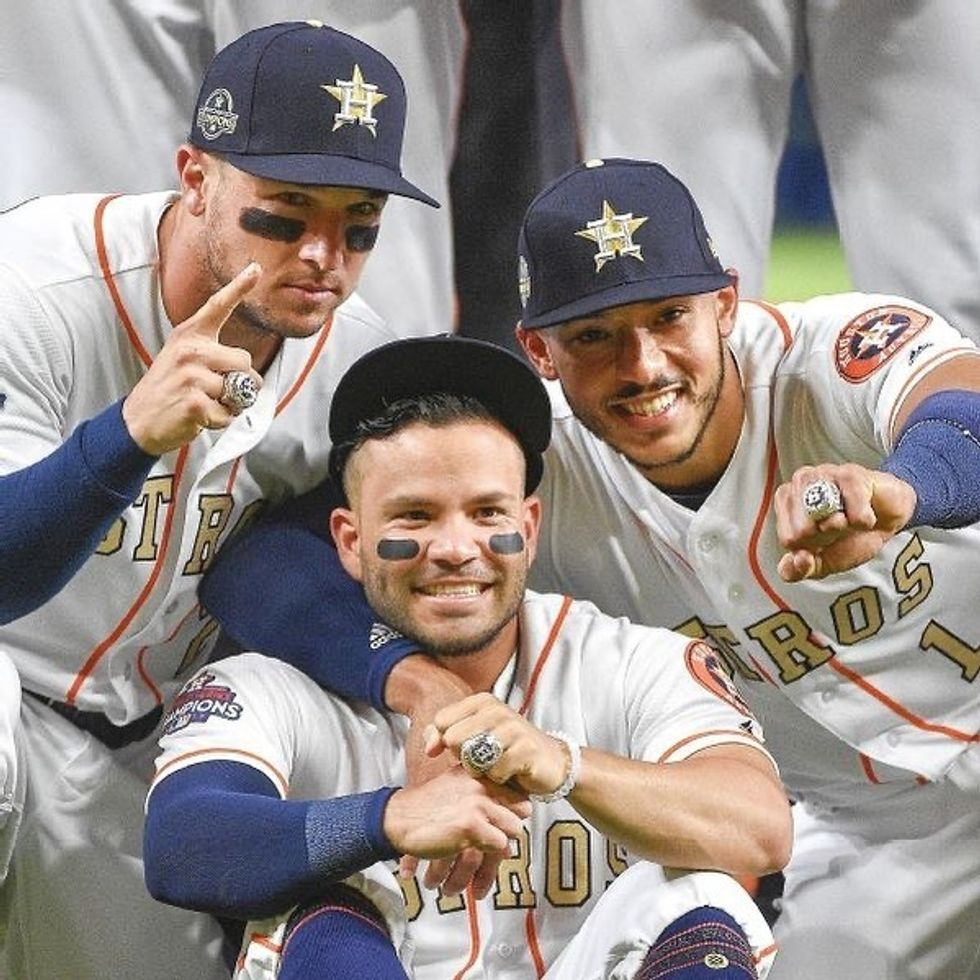 The Houston Astros Keep Stealing Signs