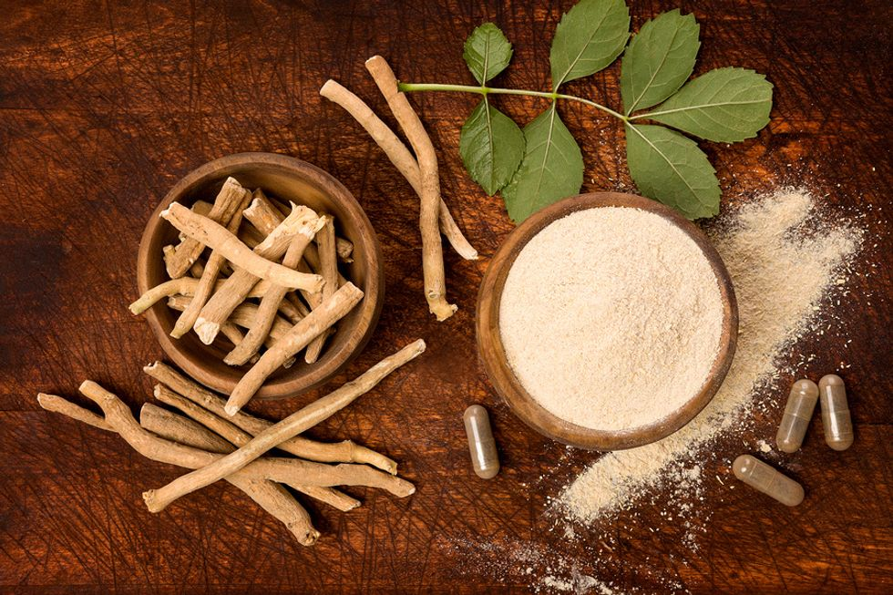 Ashwagandha for stress management in natural and supplement form