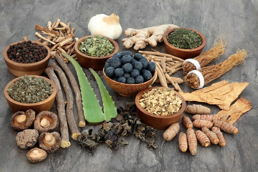 Variety of adaptogens beneficial for stress management