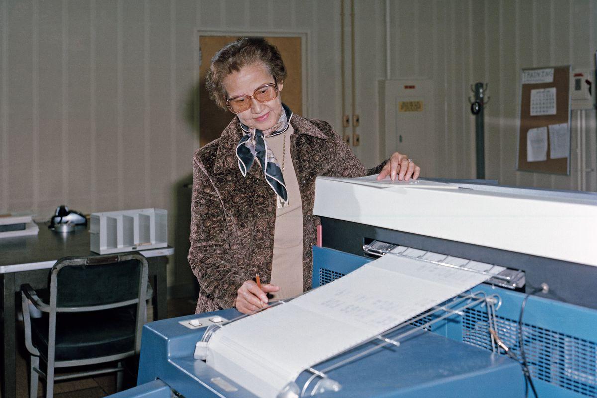 Rest in Power: Katherine Johnson, NASA Mathematician